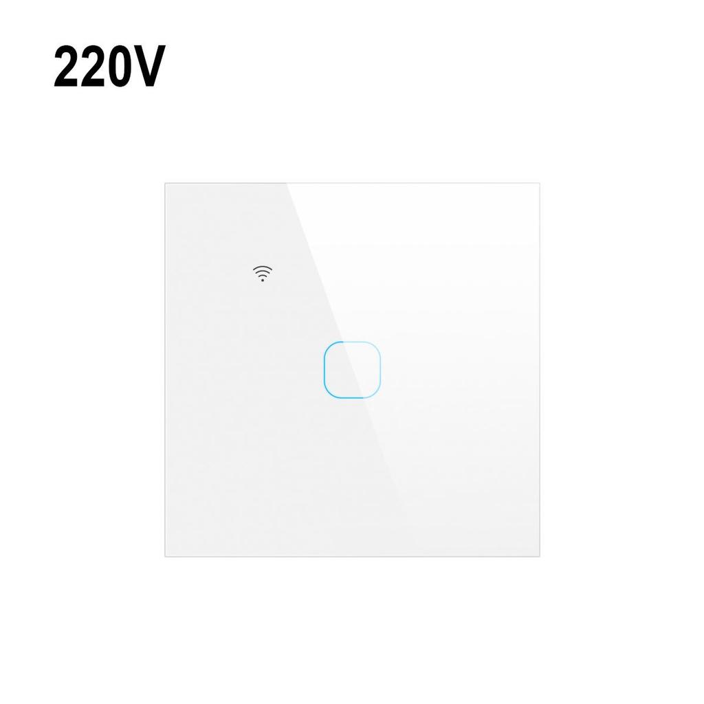 Eu 220v Tuya Smart Home Wifi Touch Switch 1 2 3 Gang Glass Panel Wall Light Switches Support Alexa Google Home No Neutral Wire Buy From 18 On Joom E Commerce Platform