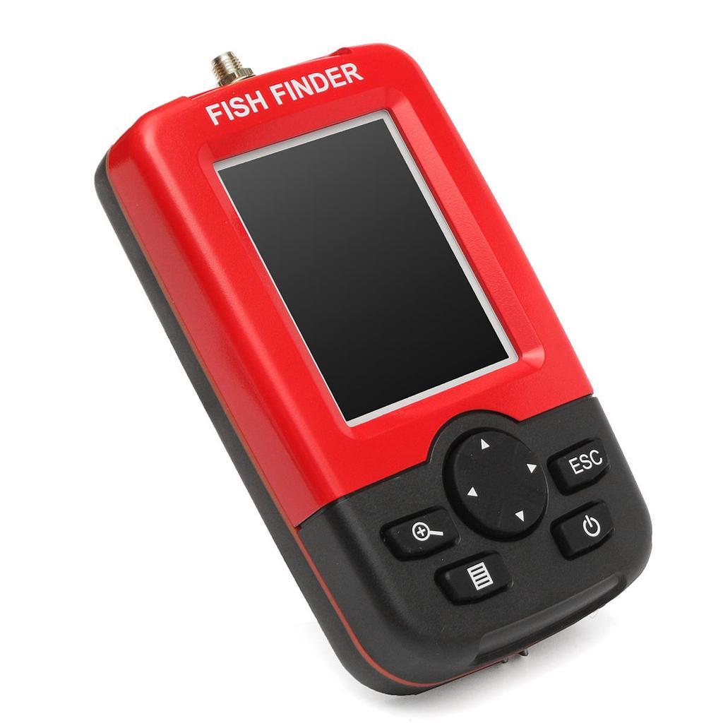Wireless Fish Finder Sonar Sensor Transducer 40m Depth Sounder Alarm ...