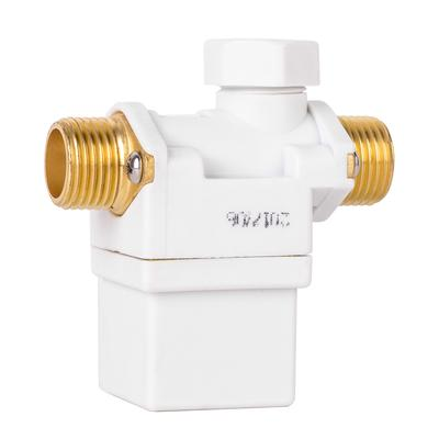 4Pcs 1//4 to 1//2 Heavy Duty Alloy Ball Valve with Blue Locking Handle 1//2 NPT Fitting for Faucet Water Purifier Dispenser