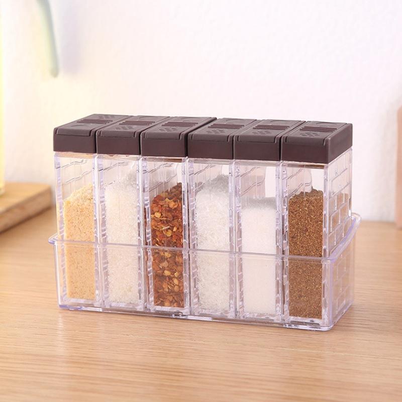 3 x Versiegelt Gewürzboxen Aufbewahrungsbox Gewürzflaschen Küche