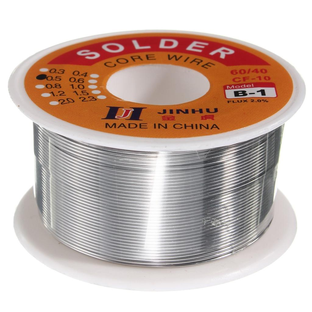 2.0mm Tin Lead Solder Wire Rosin Core Soldering 2/% Flux Reel Tube 60//40