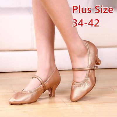 fe4454c0e6f16 Kobiety Profesjonalne buty do tańca Buty do tańca towarzyskiego Damskie Buty  do tańca latynoskiego Obcasy Plus