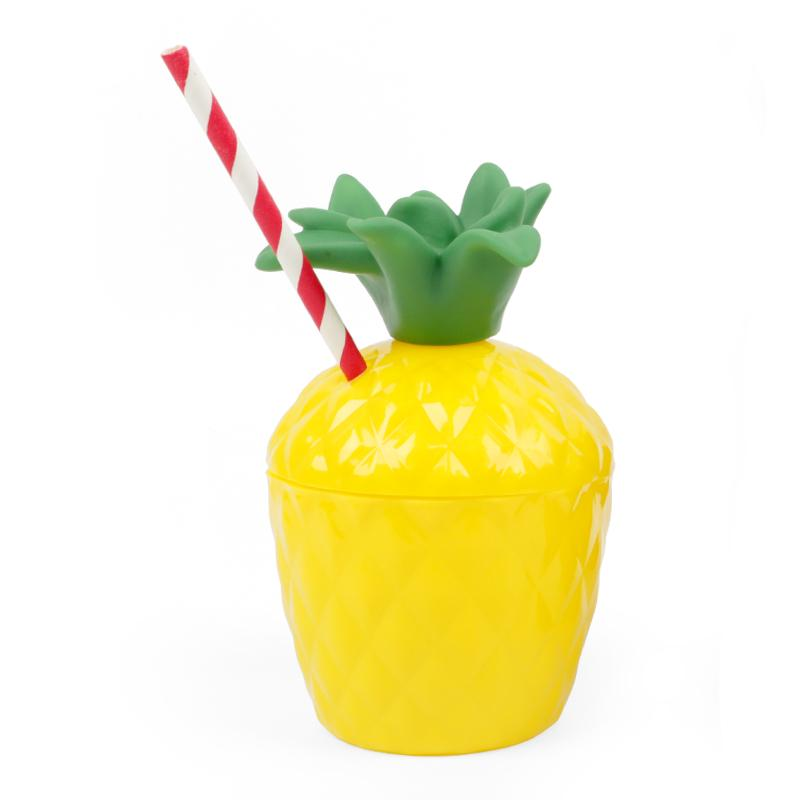 1pc Coconut pineapple shape Drink Cup Kid Bath Toy summer party decorationsUK/_TI
