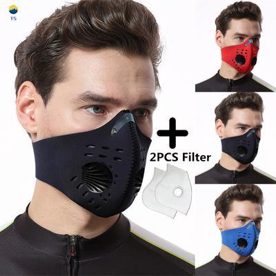 3Pcs//Set Anti Bacteria Dusts Proof Anti-Smog Anti-Pollens Breathe Masks Reusa TN