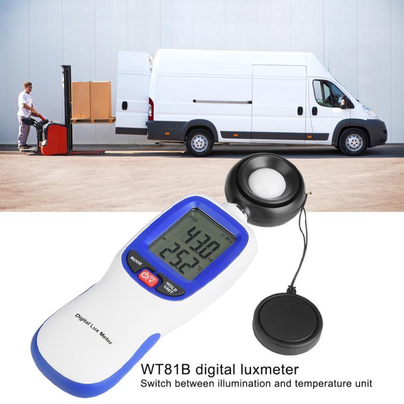 Luxmeter Light Meter Tester Illuminometer WT81B