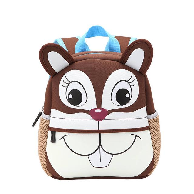 Kids Backpack Cartoon Animal Bag Children Girls Boys Soft School Bag