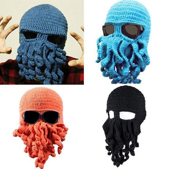 8be3c99b0def5 Fashion Creative Tentacle Octopus Knit Beanie Hat Cap Wind Ski Halloween  Mask-buy at a low prices on Joom e-commerce platform