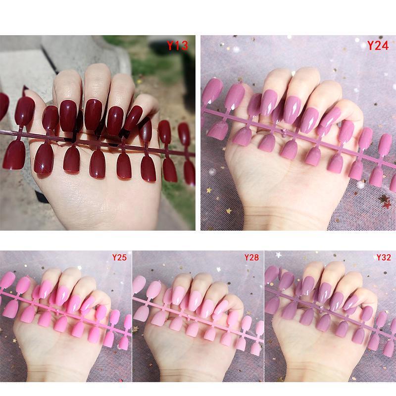 Накладные ногти 24 шт. + Инструкция