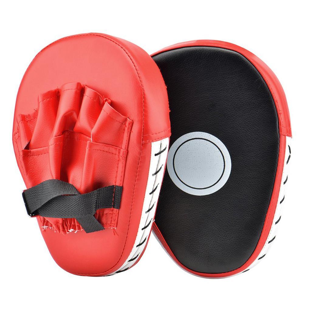 Boxing Mitt Training Focus Target Punches Pad Glove MMA Karate Combat Thai Kick^