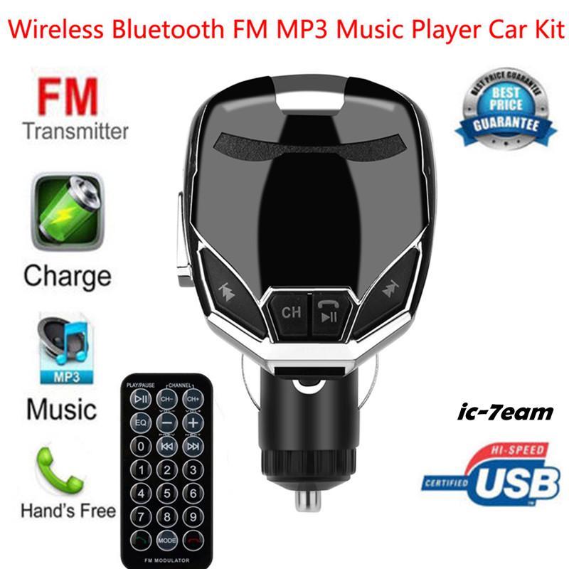 FM transmitter IC wireless bluetooth charger FM transmitter modulator car  kit MP3 music player G7