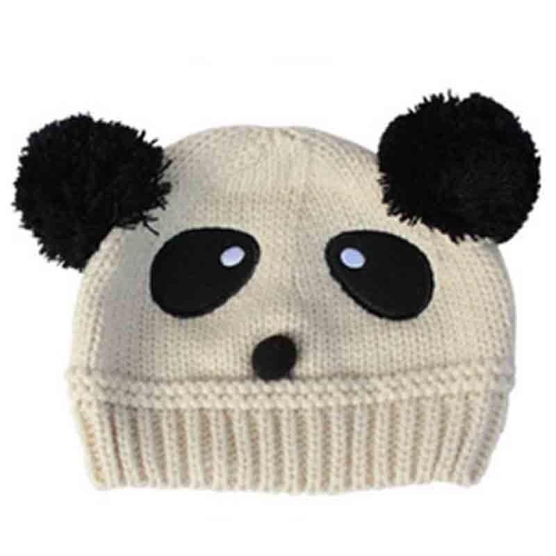 Niño precioso sombrero bebé Panda sombreros chicos chicas elástico ...