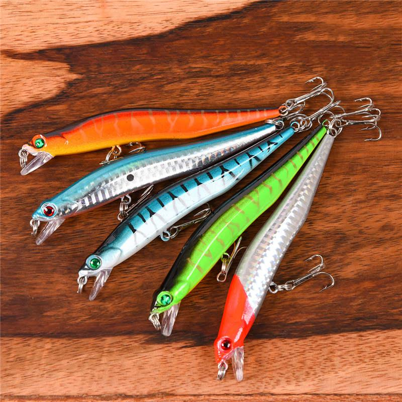 20 Soft Fishing Floating Nut up Artificial Fake Bait Lures Plastic E4S1