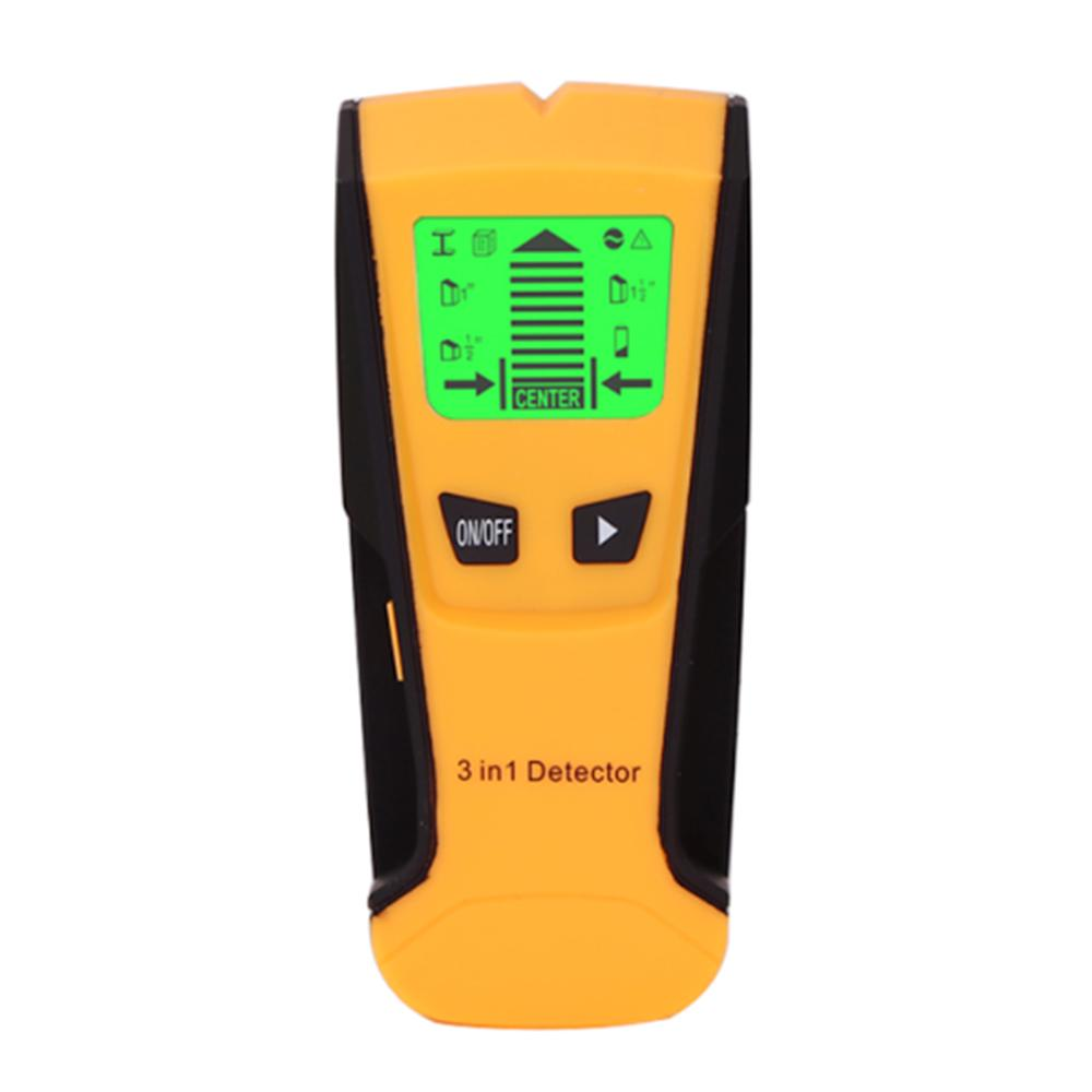 3in1 TS78B LCD Metal Detector Stud Center Scanner Finder Wall Cable Wire Tester