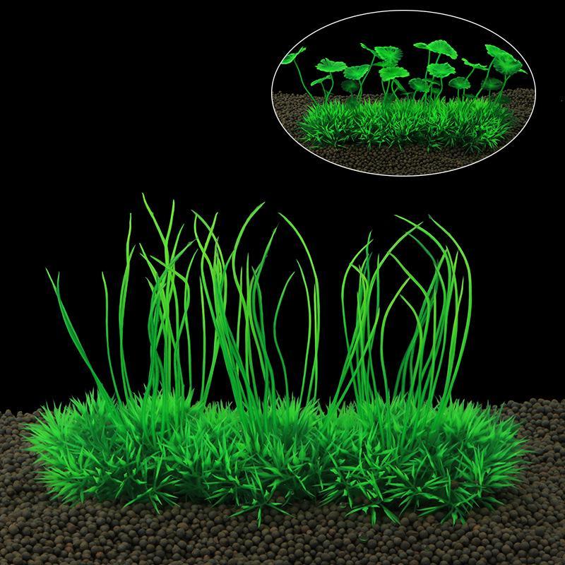 Эмуляция Трава Керамическая база Аквариум Аквариум Моделирование водных растений – купить по низким ценам в интернет-магазине Joom