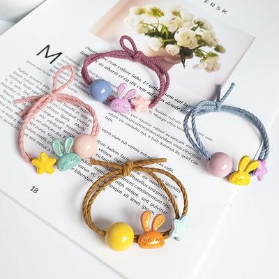 Cute Girls Daisy Flower PonyTail Elastic Rubber Hair Band Tie Rope Ring Jewelry
