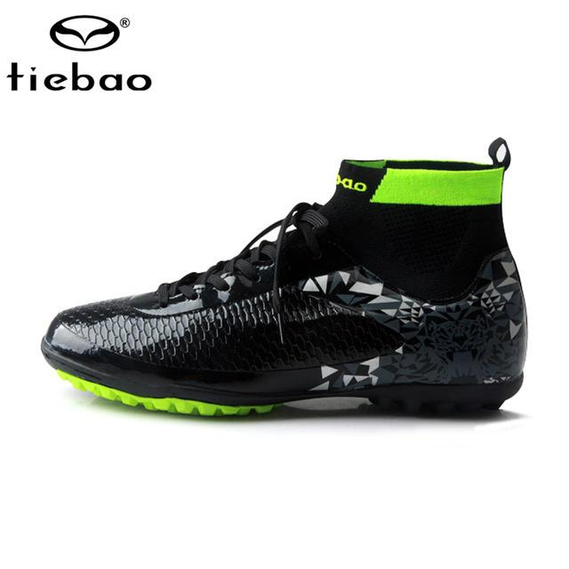 570dbba7a3c Tiebao Professional Soccer Shoes Mens Football Sneakers Indoor Turf  Non-slip Ankle High Boots-buy at a low prices on Joom e-commerce platform