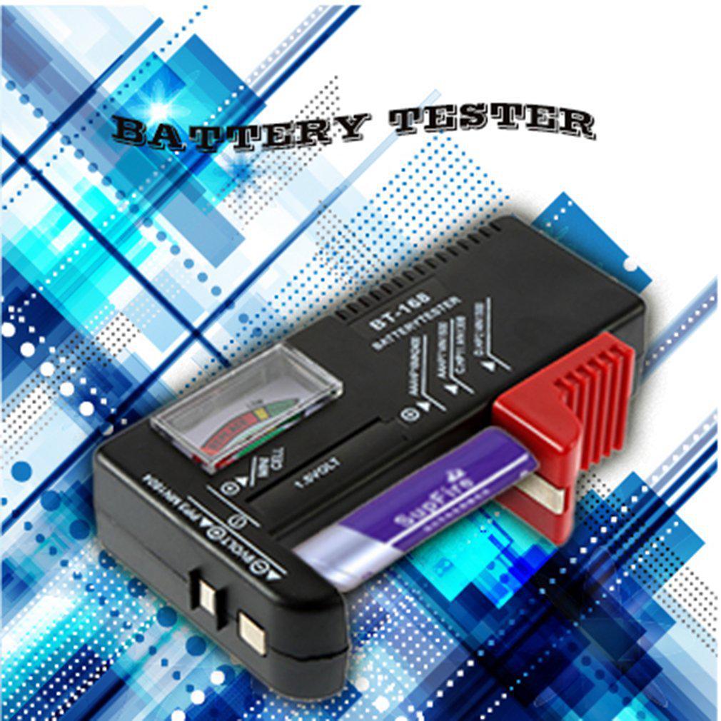AA//AAA//C//D//9V//1.5V Universal Button Cell Battery Volt Tester Checker BT-168