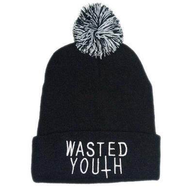 135ecac0832 2016 New Hot Sale Men and Women Hip Hop Cap Wasted Youth · 4.7Price  7 · Beanie  Knit Ski Cap Hip-Hop Winter Warm ...