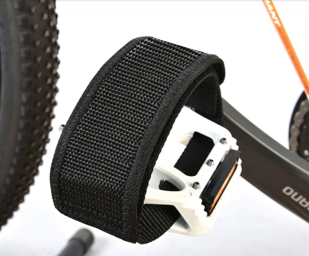 Fixie Bicycle Adhesive Straps Pedal Toe Clip Strap BelHFZT
