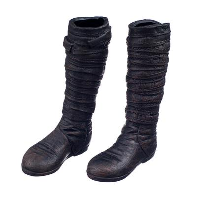 1 6 Scale Shoes Women Black Long Boots Accessories for Kumik Phicen Figure  Body 708736f154f7
