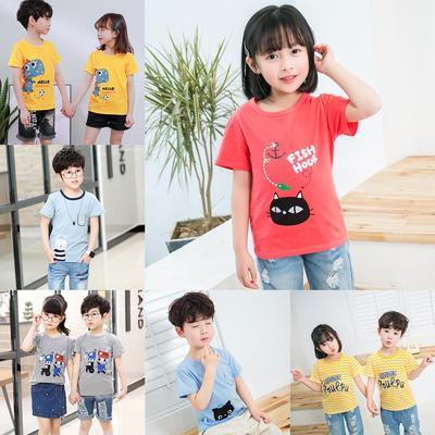 Kids Baby Girls Falbala Irregular T-shirt Top Striped Flare Pants Clothes Set