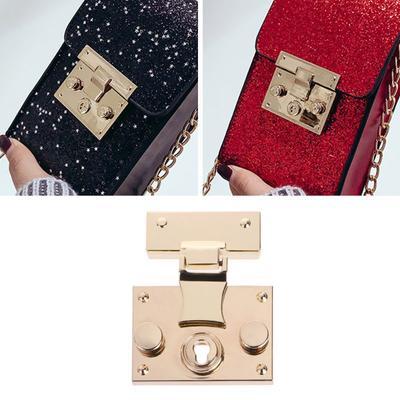 54d69fcfe277 Кошелек оборудования Twist Lock металла для Сумка DIY сумочка ремесла  очередь ...
