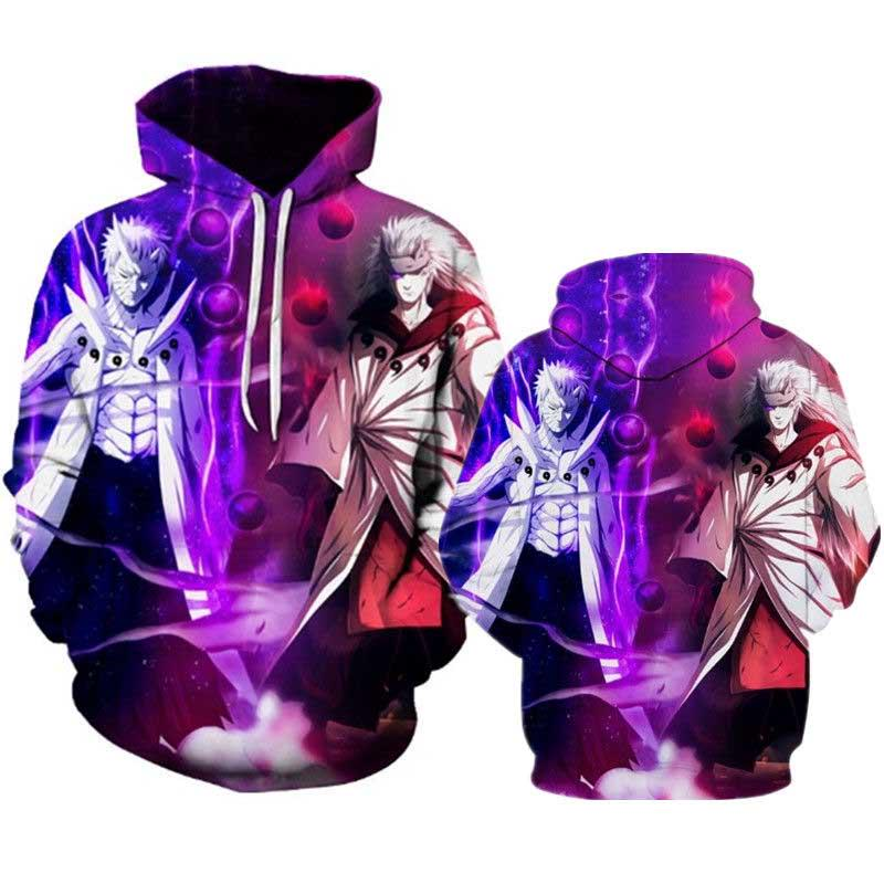 3D Printing Cartoon Anime Clothing Woman Plus Size Hooded Sweater