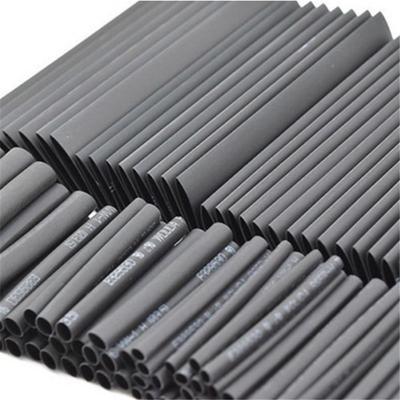 127pcs Weatherproof Heat Shrink Tubes Black Glue Sleeving Glue Assortment Kit