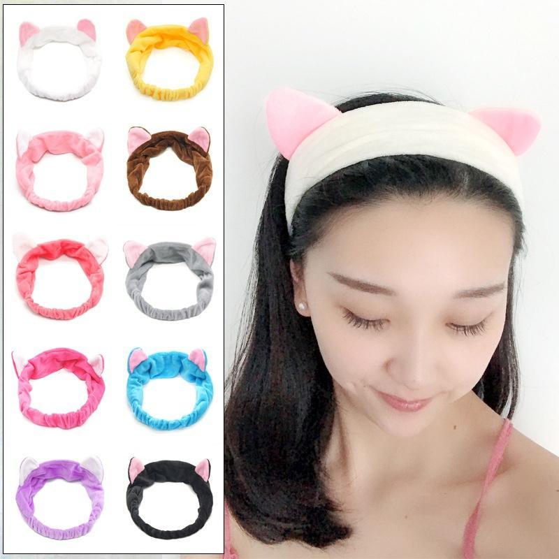 Neu Katze Ohren Hairband Kopfband Party Kopfschmuck Haar Zubehör Make-up Tools