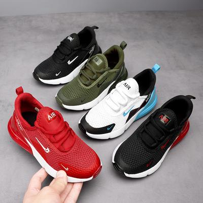 2021 Summer and Autumn Children's Sports Shoes Student Plus Size Casual Breathable Mesh Shoes