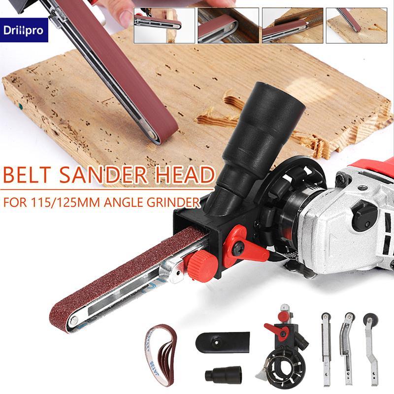 Drillpro Sanding Belt Adapter Changed 115//125mm Angle Grinder into Sander