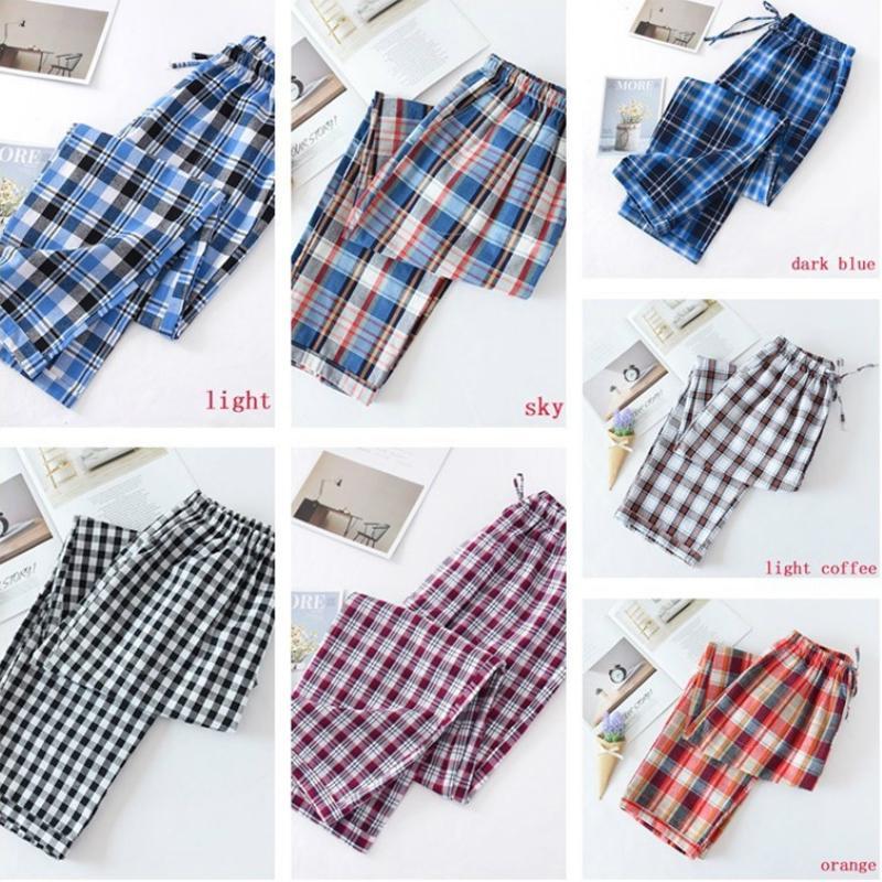 Loose Men/'s Fleece Flannel Long Lounge Pants Pajamas Trousers Bottoms Nightwear