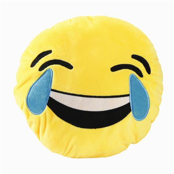 Emoji Pillow Emoticon Cushion High Quality Plush Soft Toy 8/'/'