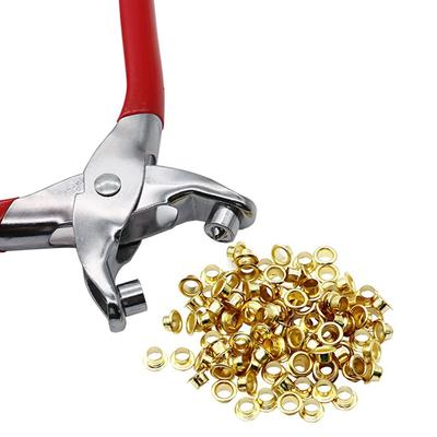 Tools Vise Smart 3pcs Eyelet Crimping Pliers Punch Tools Kit With 200pcs Eyelet Buttons For Crafts Leather Belt Bracelet Making Things Convenient For Customers