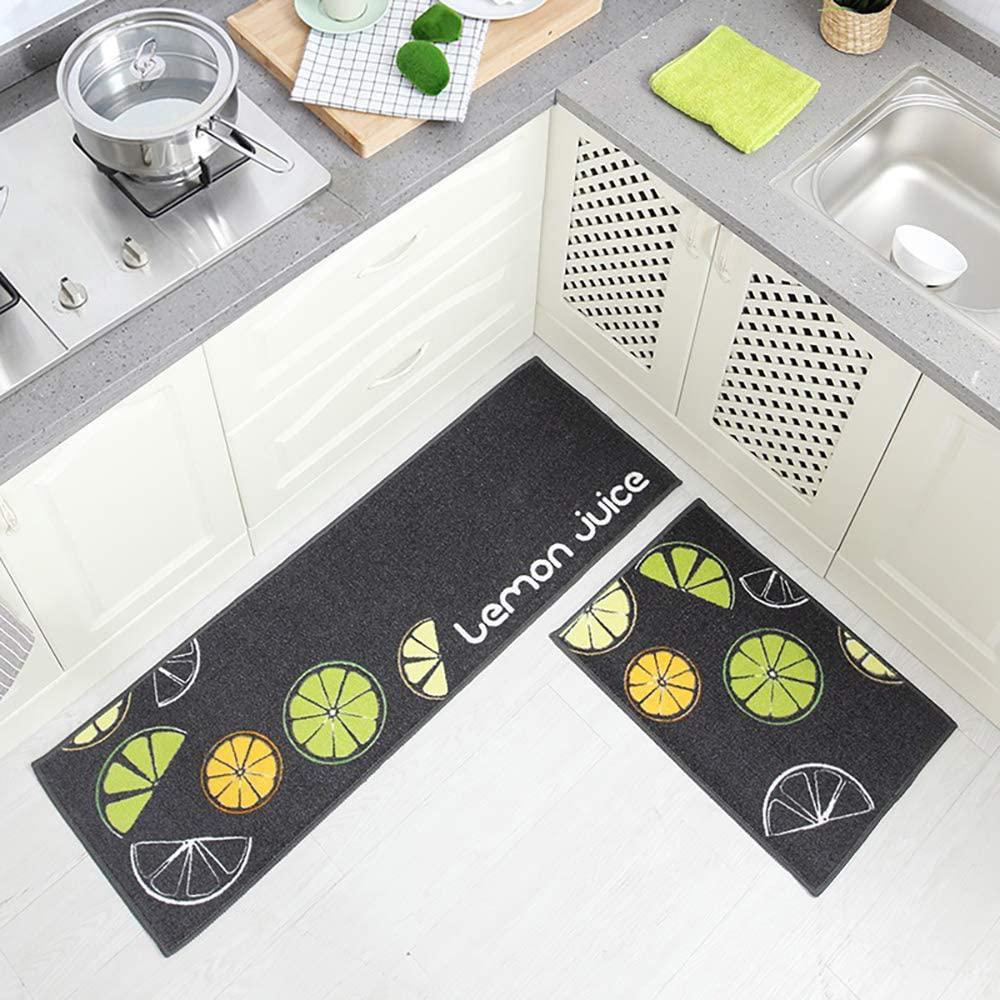 Magiin Anti Fatigue Kitchen Floor Mats Set of 9 Cushioned Comfort Heavy  Duty Standing Mats Waterproof Non Slip Washable Cushioned Kitchen Rugs and  Run