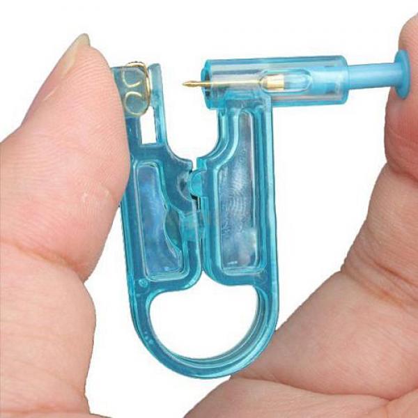Ohrlochpistole Piercingpistole Ohrstecker Piercing Ohrring Ohrloch Stechen Stahl