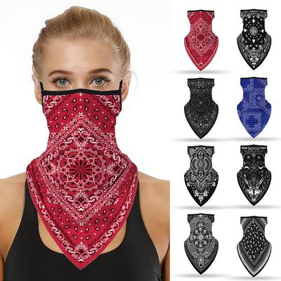Bandana Ghost Sun Shield Neck Gaiter Headband Face Mask Wrap Scarf Ski Balaclava