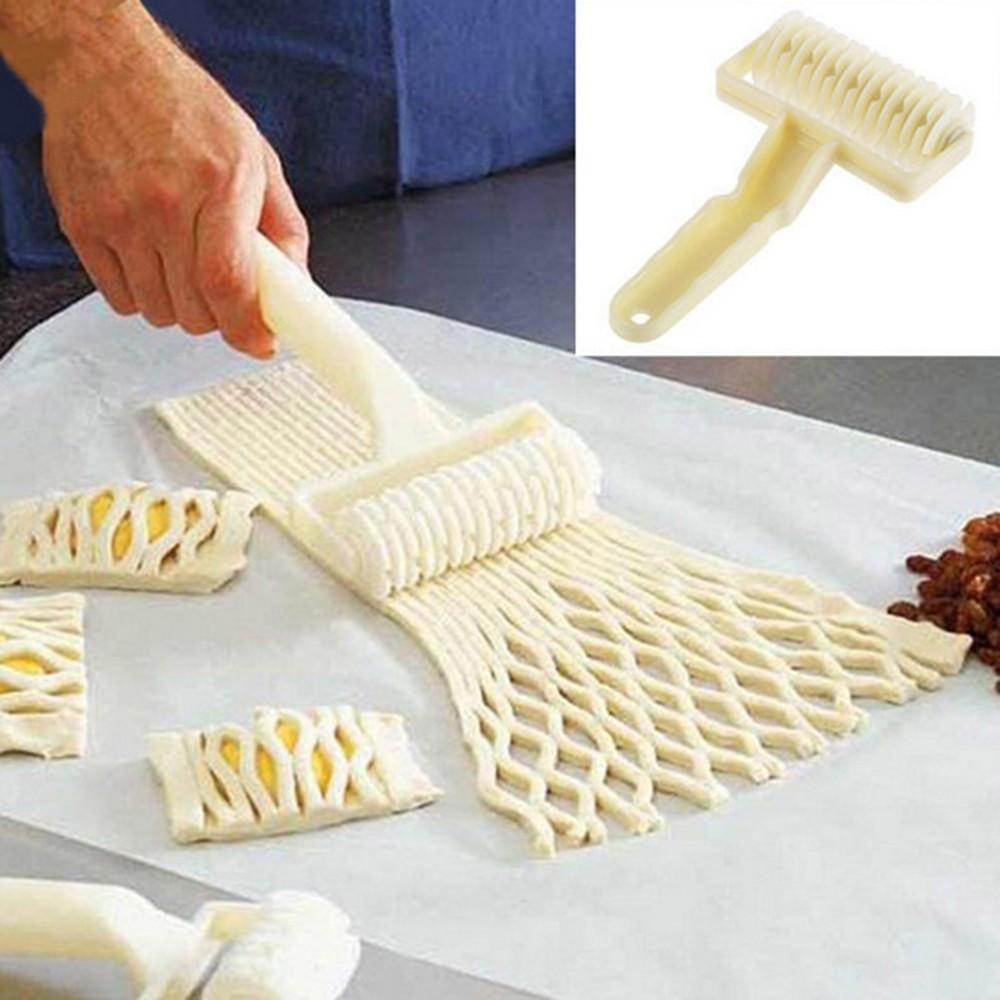 Rolling Dough Bread Cutter Dumpling Moldl Cookie Roller Kitchen Baking Tools