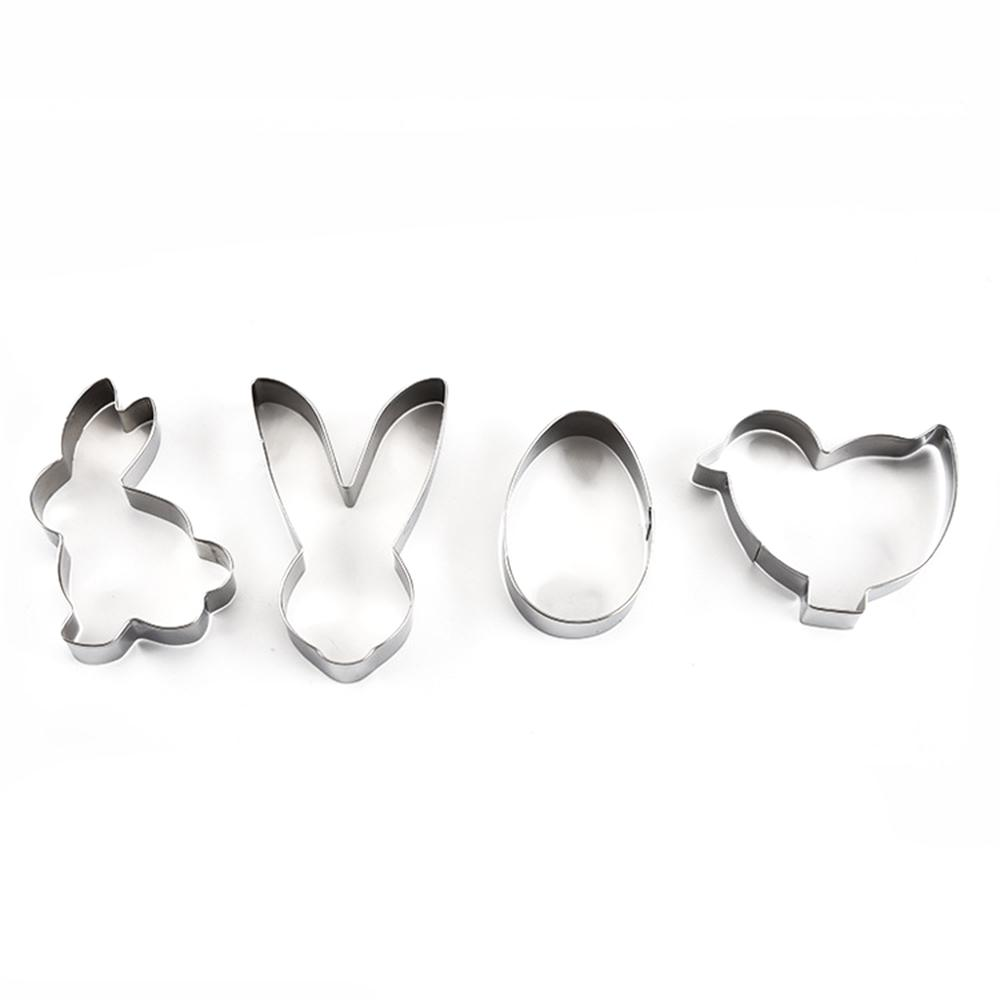3D Stainless Steel Heart-shaped Cookie Cutter Biscuit Mold Pastry Baking Tools