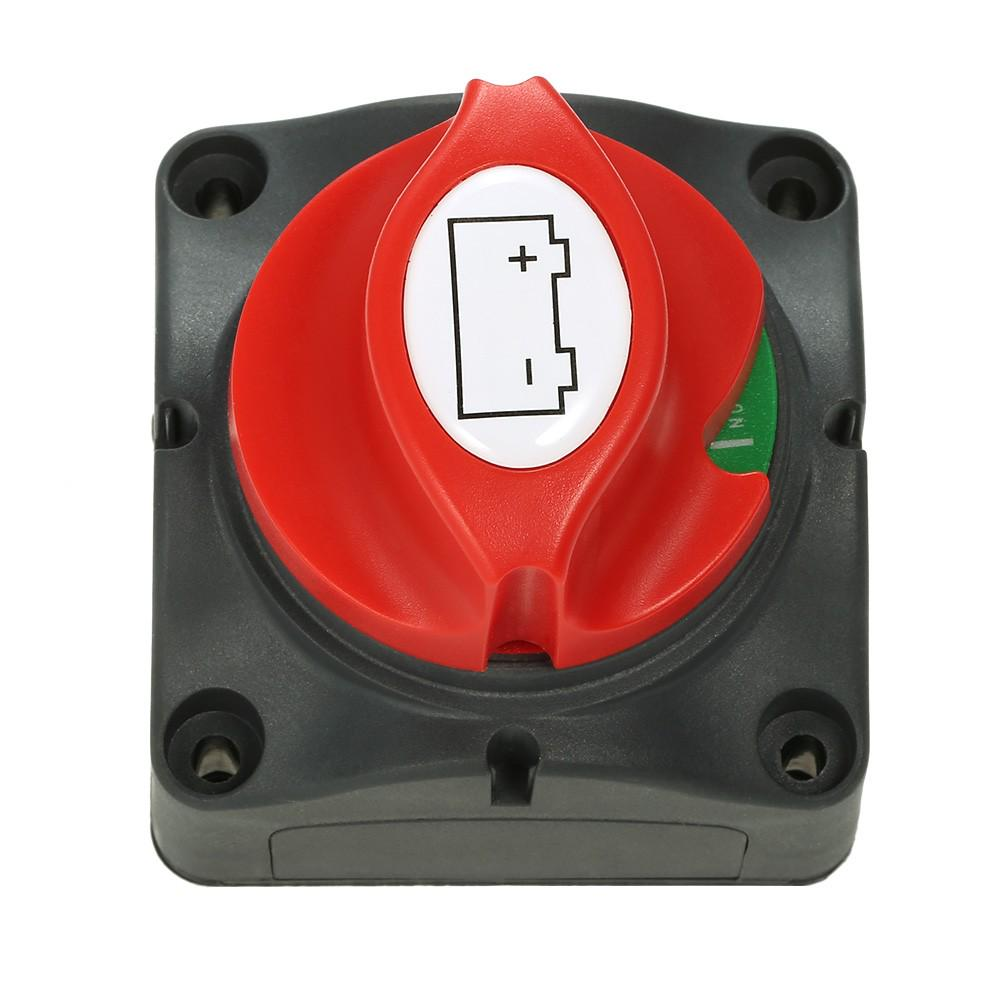 Isolator Switch,12V 600A Battery Power Isolator Master Disconnect Cut Off Two Level Switch for RV Yacht