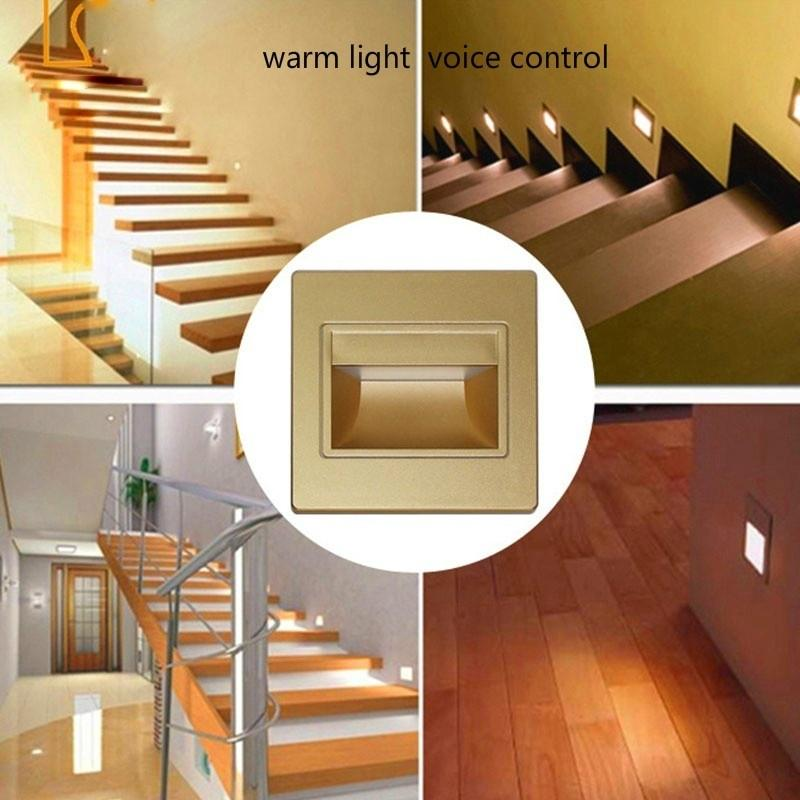Battery Powered Wireless Night Lamp Motion Sensor Activated Sconce Spot Light for Hallway Wardrobe Staircase Balcony Bathroom Illumination White LED Wall Lights Indoor