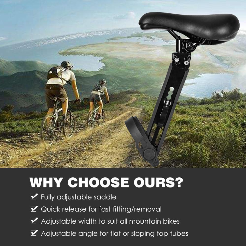 Children Kids Bike Seat Mountain Bike Detachable Front Mounted Bicycle Seats New