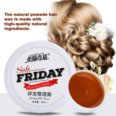 30ml Natural Hair Wax Water Based Hair Styling Pomade Hair Modeling Wax Buy At A Low Prices On Joom E Commerce Platform