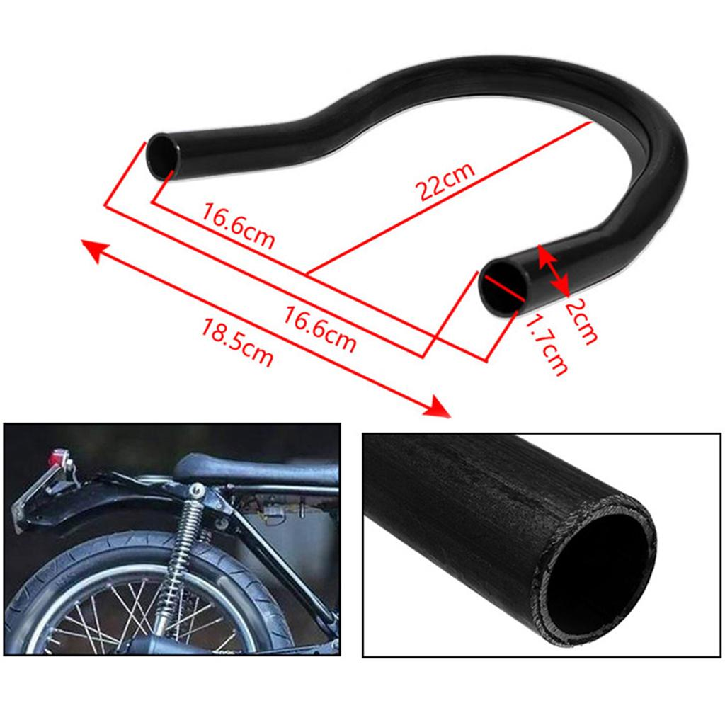 """7//8/"""" 22mm Motorcycle Handlebar for Chopper Bobber Cafe Racer 200cc and Below"""