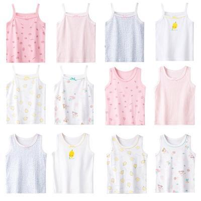 Girls Cotton Sleeveless Sling Vest Slim Tanks Camisoles Singlet Wear Tops-buy  at a low prices on Joom e-commerce platform