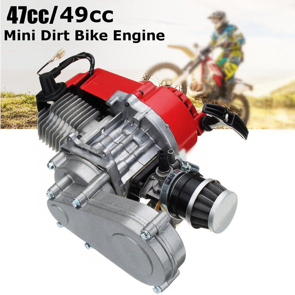 Red Pull Start Starter Part 47cc 49cc Engine Mini Moto Dirt ATV Quad Pocket Bike