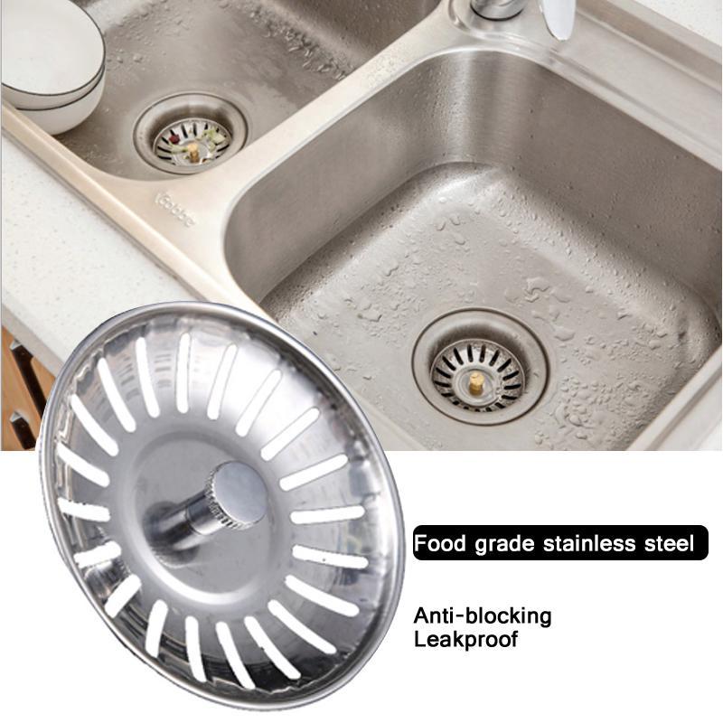 Stainless Steel Kitchen Sink Hair Filter Screen Home Sewer Floor Drain Strainer