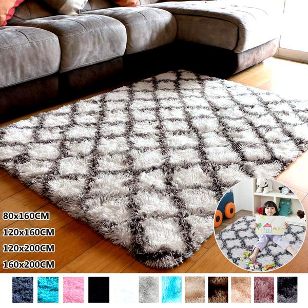 Luxury Fluffy Area Rugs Living, Rugs For Living Room