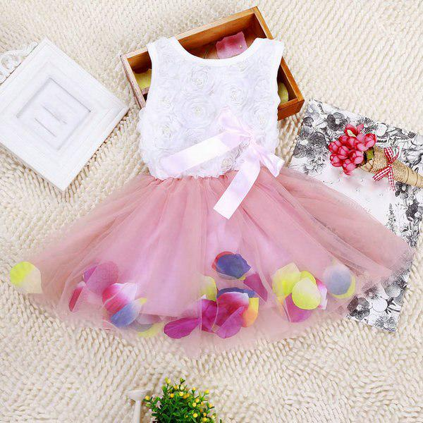 Toddler Infant Kids Baby Girls Dresses Party Lace Princess Tutu Dress Clothes FI