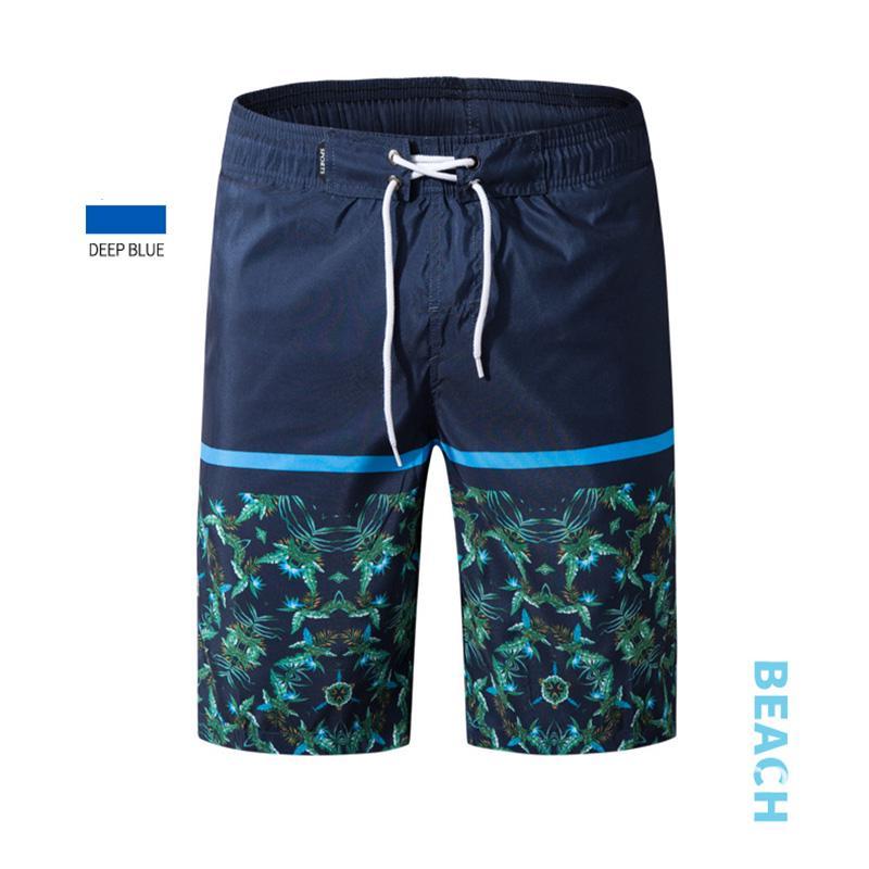 Mens Blue Camo Shark Quick Dry Summer Beach Surfing Board Shorts Swim Trunks Cargo Shorts